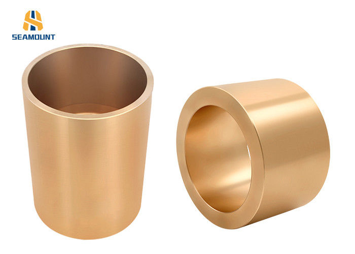 Self Lubricating Bronze cylinder-shaped Sleeve Bearings  Convenient Installation