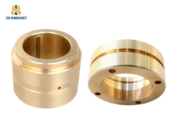 Customized Copper Alloy C86300 Brass Short Form Bushing For Machining Machine